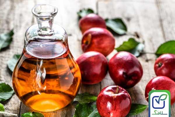 سرکه سیب برای درمان واریس