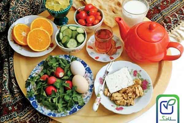 صبحانه مقوی و سالم