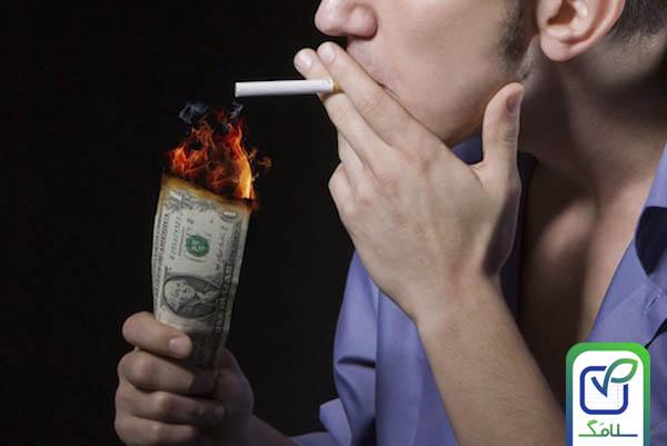 ضرر مالی سیگار