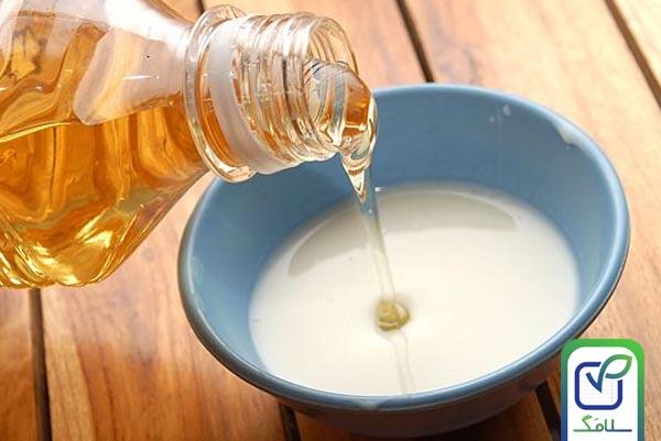 ماسک شیر و عسل